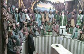 الشيخ عبد الله من مقاتل في الجيش الاحمر الى حارس متحف المجاهدين