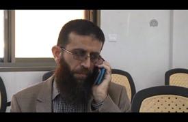 خضر عدنان: أضربت عن الطعام حبا في الحرية