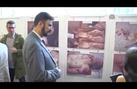 """افتتاح معرض صور يوثق """"جرائم"""" النظام السوري في البرلمان الأوروبي"""
