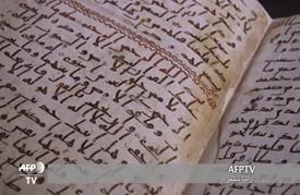 اكتشاف إحدى أقدم مخطوطات القرآن الكريم في جامعة برمنغهام البريطانية
