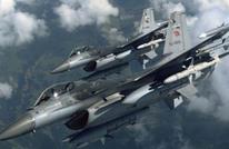 قتلى من تنظيم الدولة في الغارات الجوية التركية على سوريا