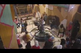 إنشاء مدينة ألعاب تحت الأرض في غوطة دمشق