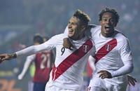 غيريرو يقود بيرو للاحتفاظ بالمركز الثالث في كوبا أمريكا
