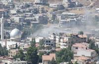 """نشطاء يهاجمون حزب الله والأسد بهاشتاغ """"الزبداني تباد"""""""
