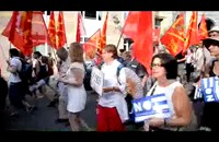 مظاهرات داعمة للشعب اليوناني بعدد من المدن الأوروبية
