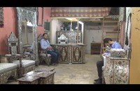 """""""أبو ربيع"""".. يروي حكاية التهجير القسري لفن الزخارف الدمشقية"""