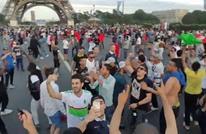 جزائريون يهتفون لفلسطين في نهائي اليورو بباريس (فيديو)