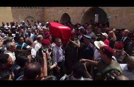 """تشييع جثمان طبيب عسكري تونسي قتل في هجوم مطار """"أتاتورك"""""""