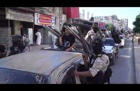 """""""سرايا القدس"""" تكشف عن صاروخ جديد خلال عرض عسكري في غزة"""