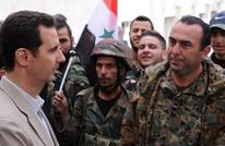 بشار الأسد يهنئ جنوده بالتقدم في حلب (فيديو)