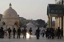 فلسطيني يصفع جنديا إسرائيليا في ساحات الأقصى (شاهد)