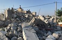 الاحتلال يهدم بناية سكنية في البيرة وسط الضفة (شاهد)