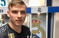 ريال مدريد يقدم حارسه الجديد لوسائل الإعلام