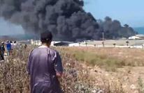 اندلاع حريق ضخم بأحد معامل تصبير الزيتون بالمغرب (شاهد)