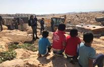 سلطات الاحتلال تهدم قرية فلسطينية شرقي القدس (شاهد)