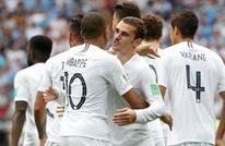 فرنسا تتأهل للمربع الذهبي وتخرج الأوروغواي بثنائية (شاهد)