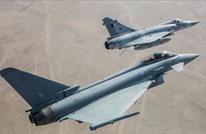 تصادم طائرتين عسكريتين قطريتين خلال تدريب