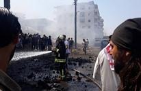 قتلى وجرحى بانفجار سيارة مفخخة بعفرين شمال سوريا (شاهد)