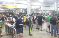 استدعاء قوات خاصة بسبب الشغب عقب مغادرة مشجعين جزائريين لمصر