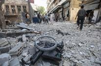 قناة روسية توثق القصف الكثيف لمناطق المعارضة بإدلب (شاهد)