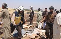 قتلى مدنيون بينهم أطفال بقصف للنظام على مخيم نازحين بإدلب
