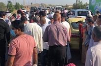 قتيلان بمظاهرات قرب بغداد بعد قمعها من الأمن (شاهد)