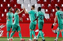 ريال مدريد يهزم غرناطة ويضع يدا واحدة على لقب الليغا
