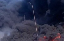 "حريق ""هائل"" بمصر جراء انفجار خط بترول (شاهد)"