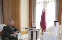 أمير قطر يبحث التعاون مع القيادة المركزية للجيش الأمريكي