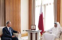 أمير قطر يستقبل وزير الدفاع التركي بالدوحة