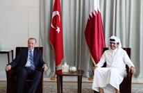 أردوغان يصل قطر ويلتقي أميرها في الدوحة