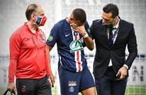 مبابي يتعرض لإصابة خطيرة في نهائي كأس فرنسا (شاهد)