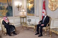 سعيّد يبحث مع وزير خارجية السعودية الأزمة الليبية (شاهد)