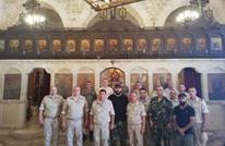 "بدء بناء ""كنيسة آيا صوفيا"" في سوريا بدعم روسي (صور)"