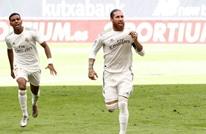 ريال مدريد يحقق فوزا صعبا ويحلق عاليا بصدارة الليغا
