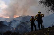 استمرار ارتفاع درجات الحرارة والحرائق بأمريكا الشمالية (شاهد)