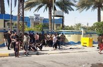 محتجون يقتحمون دائرة الموارد المائية في كربلاء (شاهد)