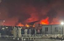 ارتفاع ضحايا حريق بمستشفى جنوبي العراق إلى 63 (شاهد)