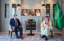 وزيرا خارجية السعودية وتركيا يلتقيان في طشقند (صورة)