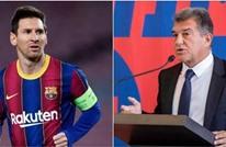 رئيس برشلونة يكشف آخر تطورات مفاوضاته مع ميسي