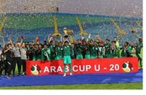 """السعودية تهزم الجزائر وتتوج بلقب """"كأس العرب"""" للشباب (شاهد)"""