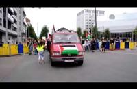 مسيرة شبابية في بروكسل تضامنا مع غزة (فيديو)