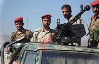 """الجيش اليمني يسقط """"مسيّرة مفخخة"""" للحوثي بالحديدة"""