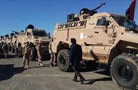 تفجير سيارة مفخخة أمام معسكر في طرابلس