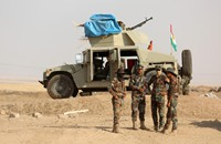 تقدم للأكراد وطيران الدولة الإسلامية في سماء كوباني