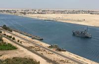 انخفاض إيرادات مصر من قناة السويس
