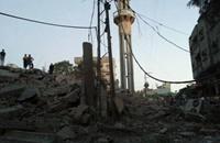 1900 شهيد وتدمير 3 مساجد في غزة اليوم