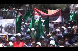"""مسيرة بالعاصمة الأردنية عمان """"نصرة للأقصى"""""""