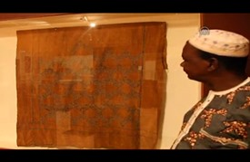 منسوجات عتيقة تروي تفاصيل حضارة عريقة في المتحف الوطني بمالي