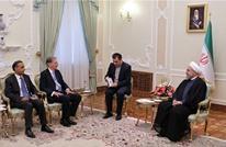 روحاني يلتقي وزير خارجية بريطانيا في طهران